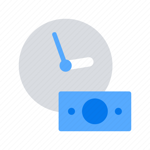 Investment, money, time icon - Download on Iconfinder