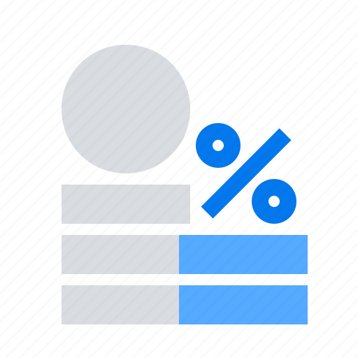 credit, interest, percent icon