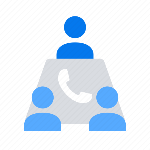 call, conference, discuss icon