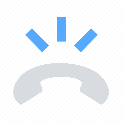 call, decline, hangup icon
