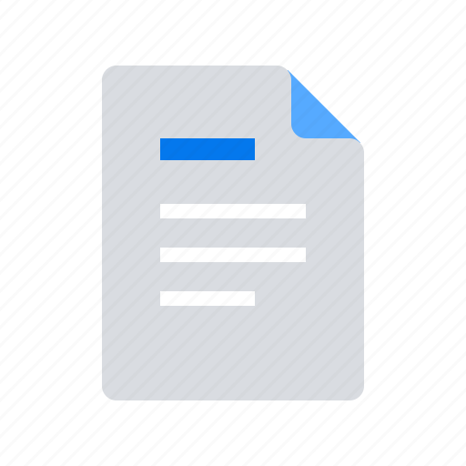 document, note, report icon