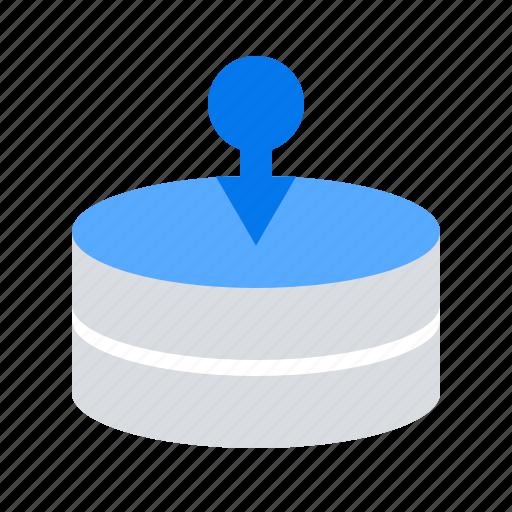 data, database, import icon