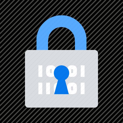 encryption, lock, security icon