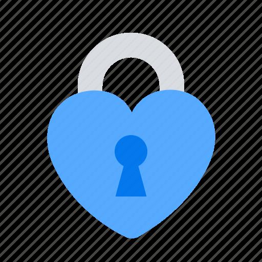 lock, love, private icon