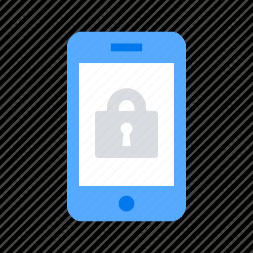 lock, login, mobile icon