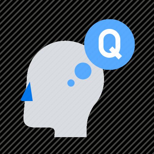 head, question icon
