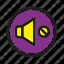 interface, media, music, mute, player, web