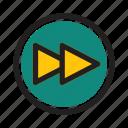 interface, media, music, next, player, web
