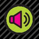 interface, media, music, player, unmute, web