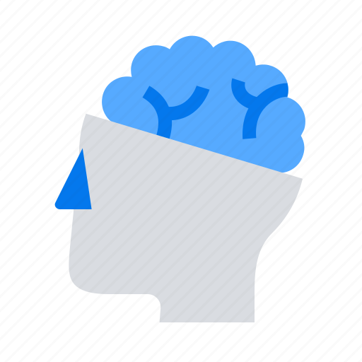 brain, mind, neurology icon