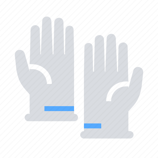 experiment, gloves, labratory icon