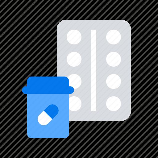 medicine, pills, prescription icon