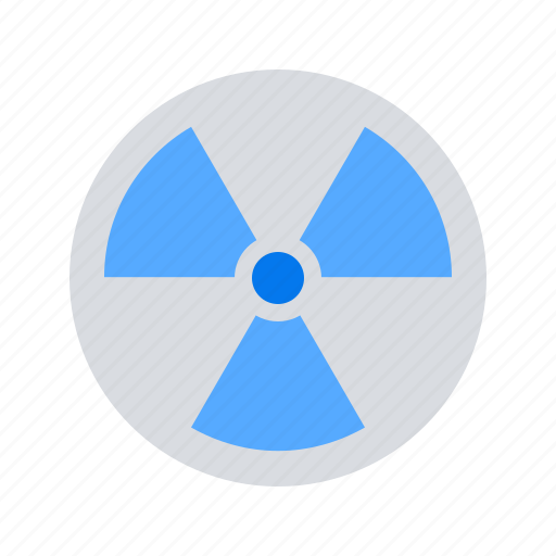 danger, hazard, nuclear, radiation, radioactive icon