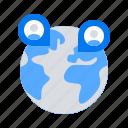 international, networking, remote, team