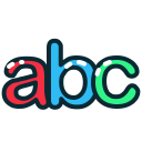 abc, letter, letters, lowercase icon