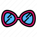 accessory, fashion, protection, sunglasses icon