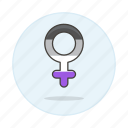 asexual, female, flag, lgbt, pride, symbol, symbols icon