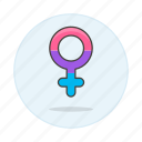 bisexual, female, flag, lgbt, pride, symbol, symbols icon