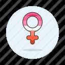 female, flag, lesbian, lesbians, lgbt, pride, symbol, symbols icon