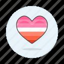 heart, lesbian, lesbians, lgbt, pride icon