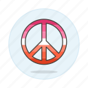 flag, lesbian, lesbians, lgbt, peace, pride, symbol, symbols icon
