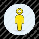 agender, avatar, lgbt, men, neutral, pride, yellow icon