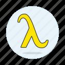 flag, gay, lambda, lgbt, liberation, neutral, pride, symbol, symbols, yellow icon