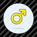 flag, lgbt, male, neutral, pride, symbol, symbols, yellow icon