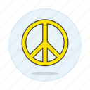 flag, lgbt, neutral, peace, pride, symbol, symbols, yellow icon