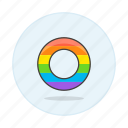 agender, and, color, flag, gay, lgbt, pride, rainbow, symbol, symbols icon