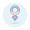 female, flag, lgbt, pride, symbol, symbols, transgender icon