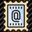 life7, stamp, badge, medal, mail, send, communication