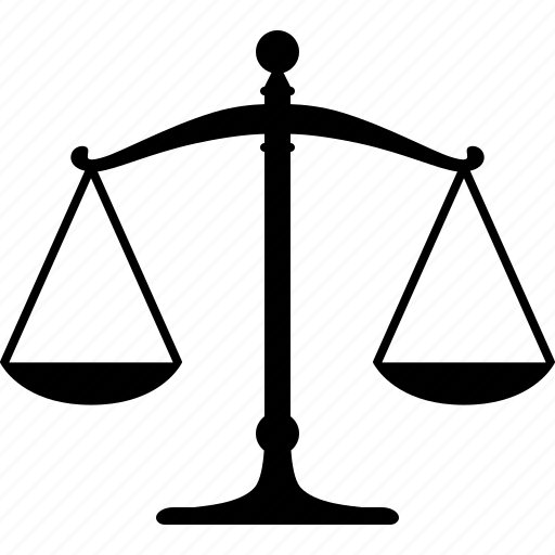 balance, justice, law, legal, libra, scale, weight icon