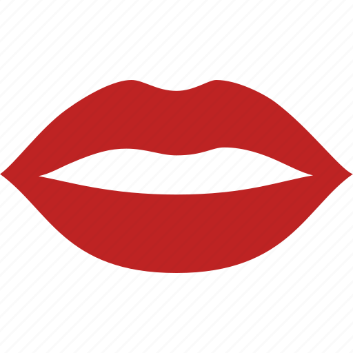 kiss, lips, lipstick, mouth, red, sexy, woman icon