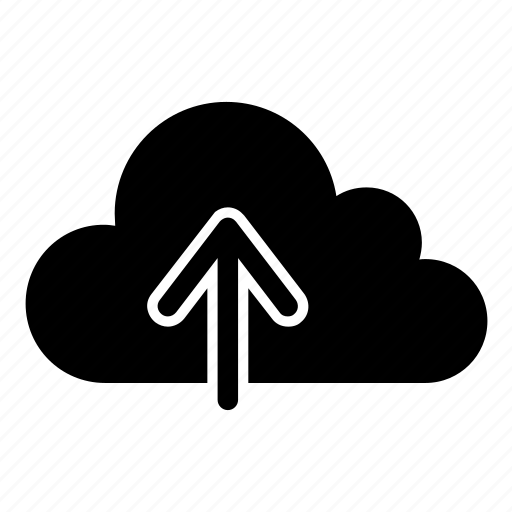 cloud, push, storage, store, upload, web icon