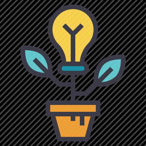 creativity, grow, growth, idea, ideation icon