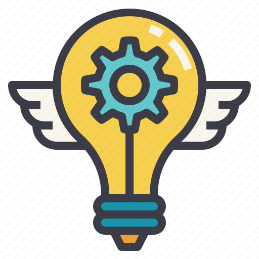 bright, engineering, futuristic, idea, innovation icon