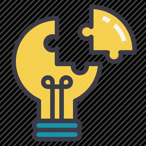 creativity, idea, motivation, problem, share, solving icon