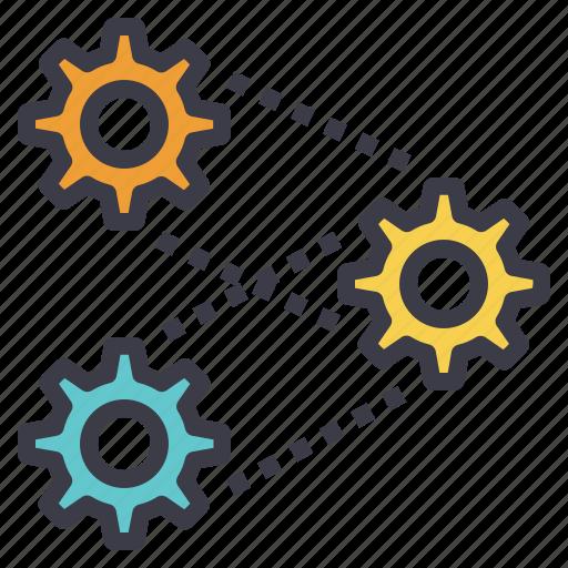 engineering, logic, process, system, thinking icon