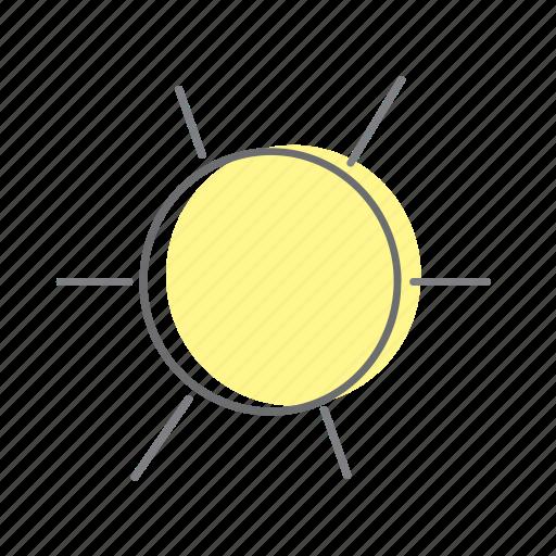 life, style, sun icon