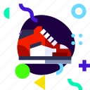 adaptive, ios, isolated, lifestyle, material design, shoes, sport icon