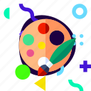 adaptive, ios, isolated, lifestyle, material design, painting