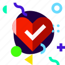 adaptive, health, heart, ios, isolated, lifestyle, material design icon