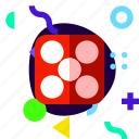 adaptive, dice, ios, isolated, lifestyle, material design icon