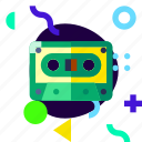 adaptive, cassette, ios, isolated, lifestyle, material design icon