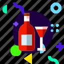 adaptive, ios, isolated, lifestyle, material design, wine icon