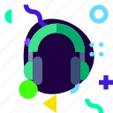 adaptive, headphone, ios, isolated, lifestyle, material design icon