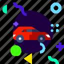 adaptive, car, ios, isolated, lifestyle, material design icon