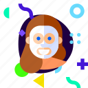 adaptive, beauty, ios, isolated, lifestyle, masker, material design