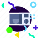 adaptive, ios, isolated, lifestyle, material design, microwave icon